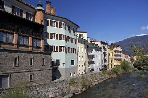 Photo:  Bruneck Houses South Tyrol Italy