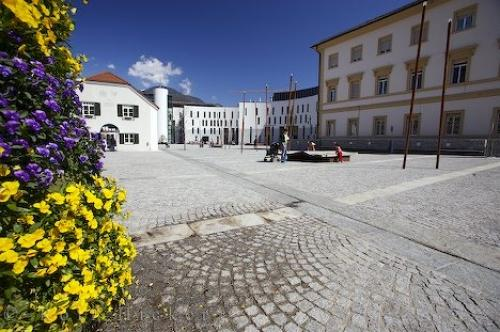 Photo:  Bruneck Town Square South Tyrol Italy