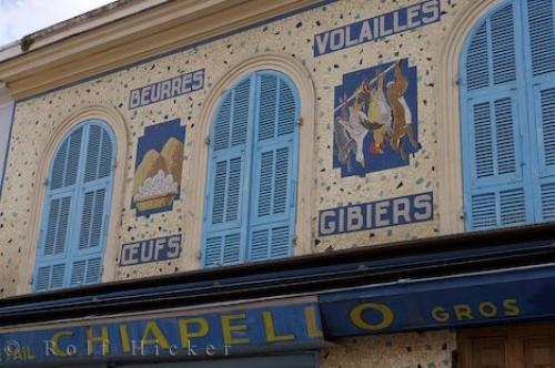 Photo:  Building Tiles Old Town Nice Provence