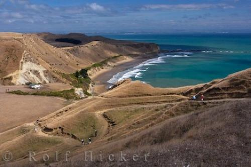 Photo:  Cape Kidnappers Scenery Hawkes Bay New Zealand