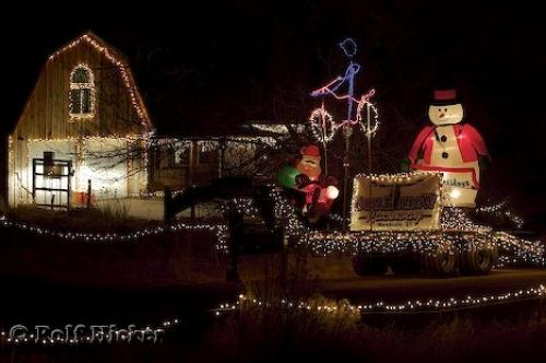Christmas House Photo Information