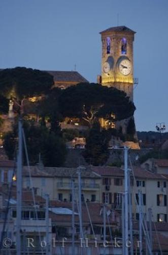 Photo:  Clock Tower Cannes France