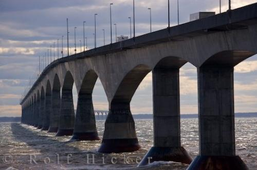 Picture of Confederation Bridge Prince Edward Island