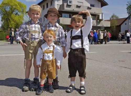 Cute Bavarian Costumes