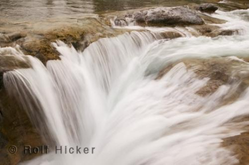 Photo:  Elbow River Waterfall