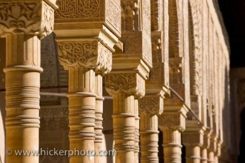 Photo:  Famous Architecture Alhambra City Of Granada Andalusia Spain