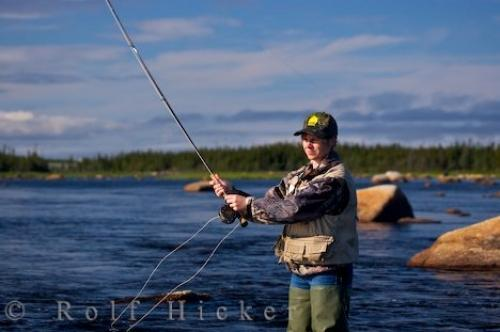 Fly fishing lessons newfoundland photo information for Fly fishing classes