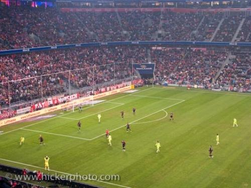 Picture of Football Game Allianz Arena Munich Germany
