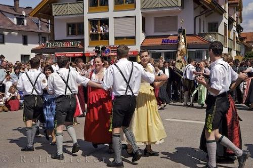 Download this Celebrations Perfomed The German People South Bavaria Germany picture