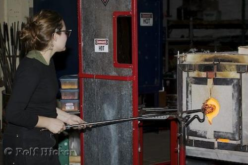 Glass Blowing Picture Photo Information