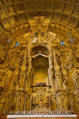 Photo:  Granada Cathedral Altar Andalusia Spain