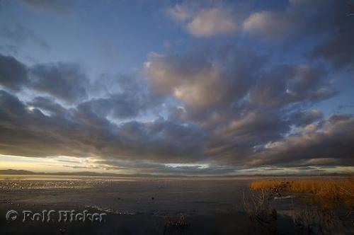 Great Salt Lake Sunset Image