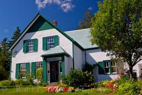 Picture of Green Gables House Prince Edward Island