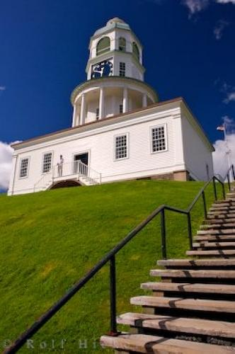 Halifax Historic Old Town Clock Nova Scotia Canada