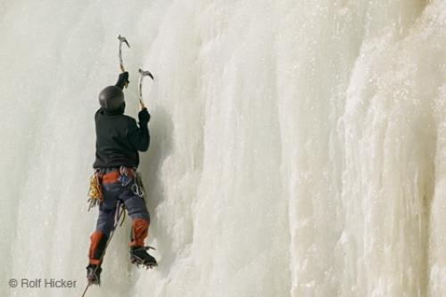 Ice Climbing Quebec