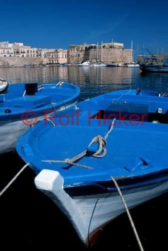 Photo:  Wooden Fishing Boat pictures of italy