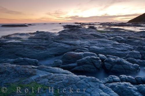 Kaikoura Peninsula Rugged Coastline Sunset
