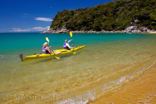Kayaking Abel Tasman National Park New Zealand