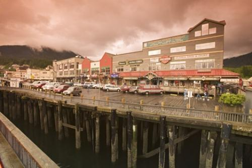 Photo:  Waterfront Town Ketchikan Alaska