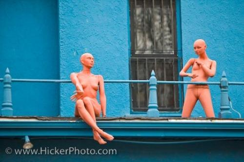 Photo:  Mannequins Victorian Styled House Toronto Ontario