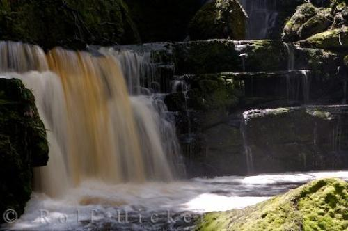 Photo:  McLean Falls Catlins South Island New Zealand