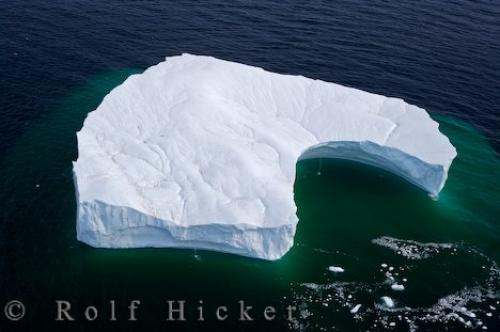 Melting Ice Berg Results Global Warming Atlantic