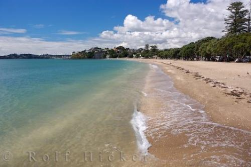 Mission bay beach auckland nz photo information - Mission bay swimming pool auckland ...