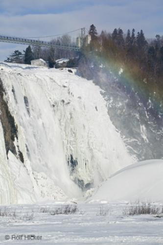 Photo:  Montmorency Falls Rainbow Picture
