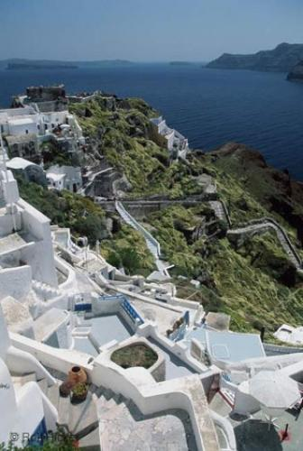 Photo:  Stairs Labyrinth Oia