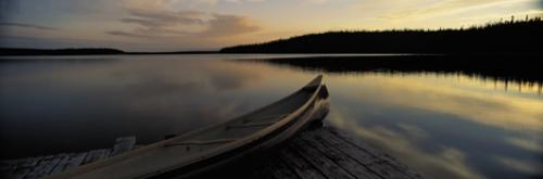 Panorama Canoe Picture