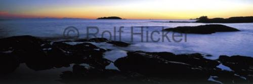Scenic Panorama Photo Tofino Coast