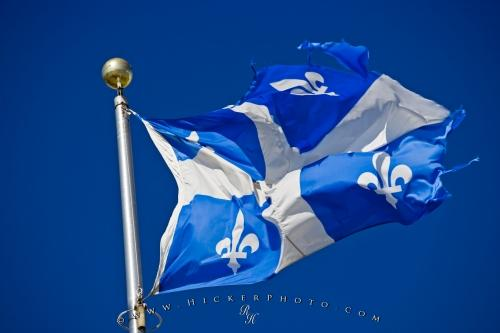 Picture of Province Of Quebec Flag Canada
