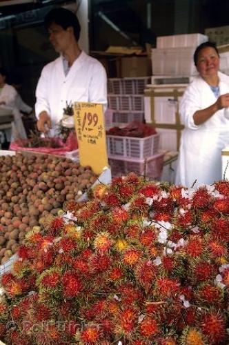 Photo:  Rambutan Fruit Chinatown
