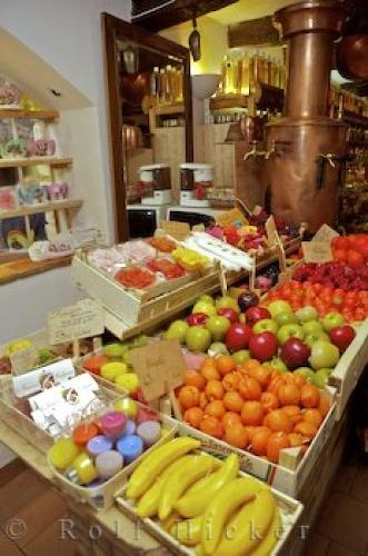Photo:  Richly Scented Fruit Candles Gourdon