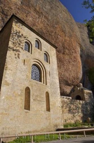 Romanesque Architecture Monastery Aragon Spain