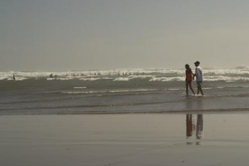 Picture of Romantic Beach Couple