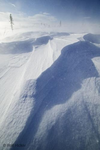 Photo:  snow formations