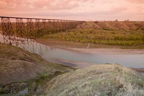 High Level Bridge Lethbridge Southern Alberta