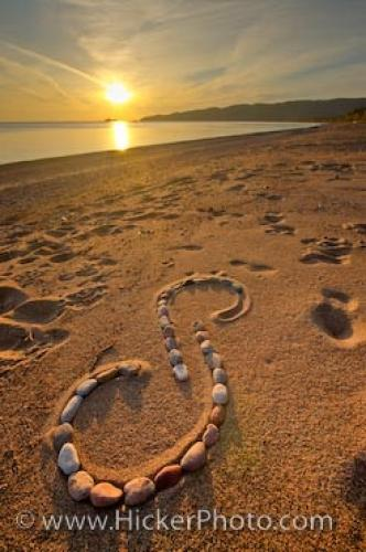 Spiral Rock Design Agawa Bay Sunset