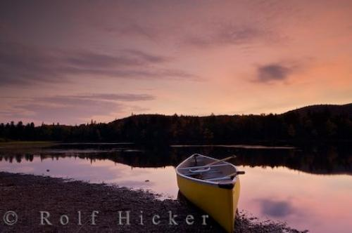 Sunset Canoe Adventures Lake Monroe Quebec