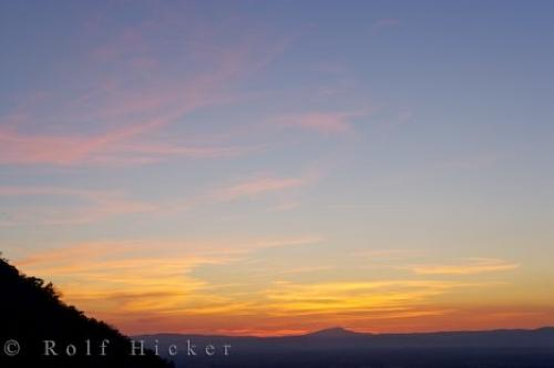 Photo:  Sunset Sky Picture Provence France