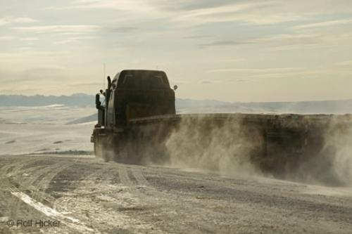 Photo:  truck prudhoe bay