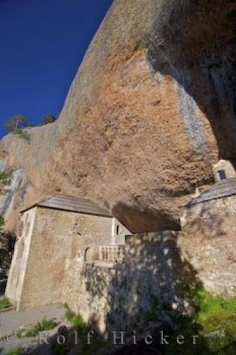 Photo:  Two Level Monastery Huesca Aragon Spain
