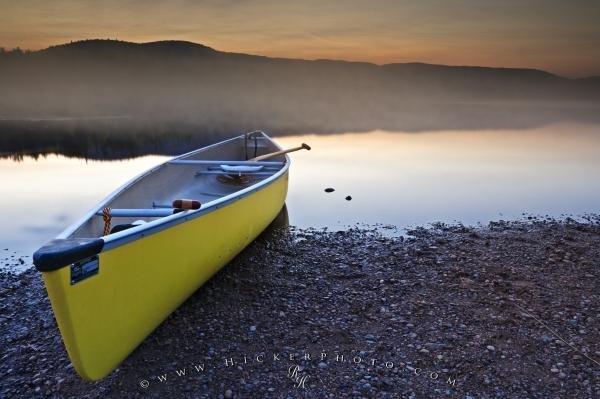 Photo:  Canoe Lake Fog Picture