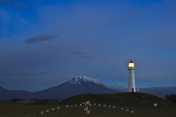Cape Egmont Lighthouse Mt Taranaki