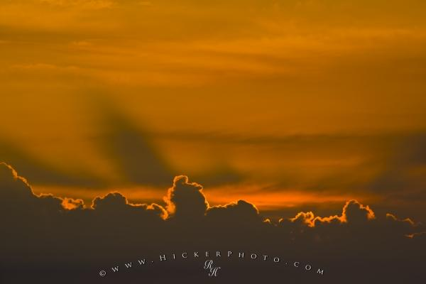 Cloud Formation Sunset Picture