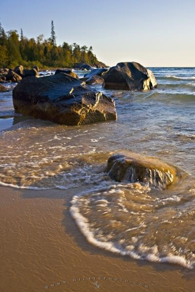 Photo:  Great Lakes Landforms Water Picture