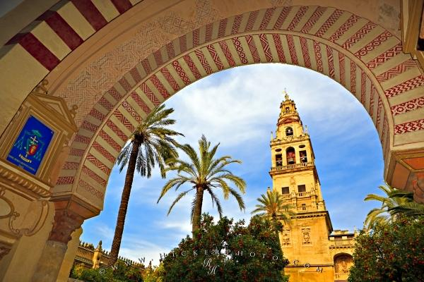 Photo:  Cathedral Mosque Bell Tower Mezquita Cordoba