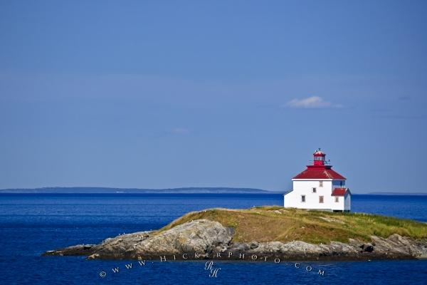 Photo:  Queensport Lighthouse Chedabucto Bay Nova Scotia