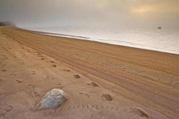 Photo:  Sand Footprints Pinware Labrador